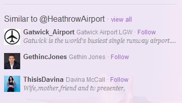 Twitter - Similar To - Weird
