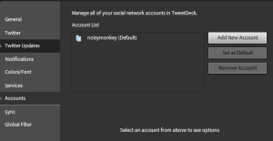 Add account users via this menu