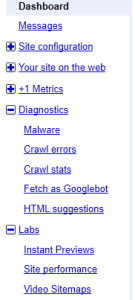 Quick and easy website checks we love in Google Webmaster Tools