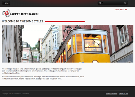 DNN website