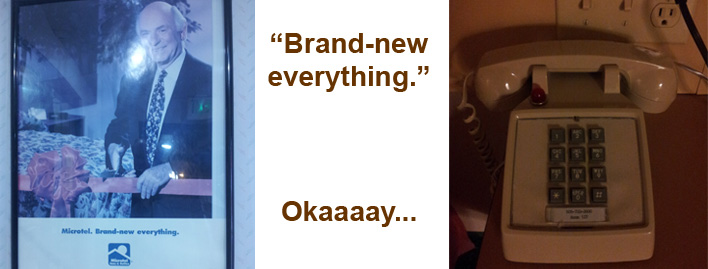 Everything brand new? Not true.