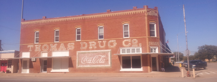 Thomas Drug Co building, Thomas, OK