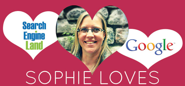 sophie loves search engine land and Google forums