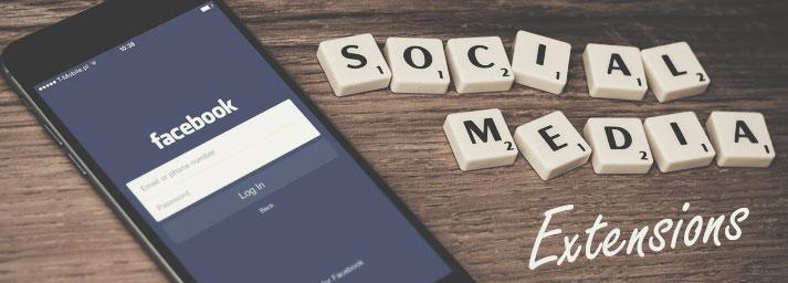social media extensions for chrome