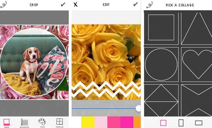 a beautiful mess app screenshots