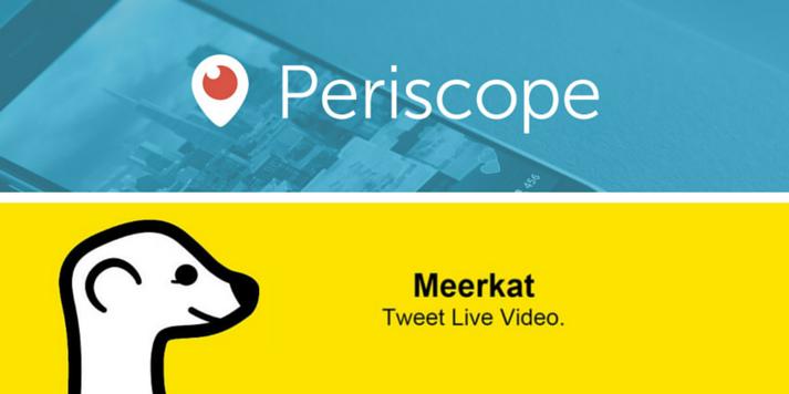 Periscope vs meerkat