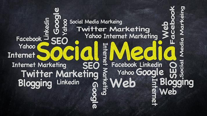 social media marketing word cloud