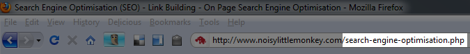 url with search terms