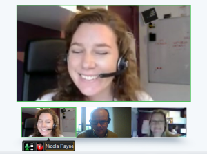 Google+  Hangout for training