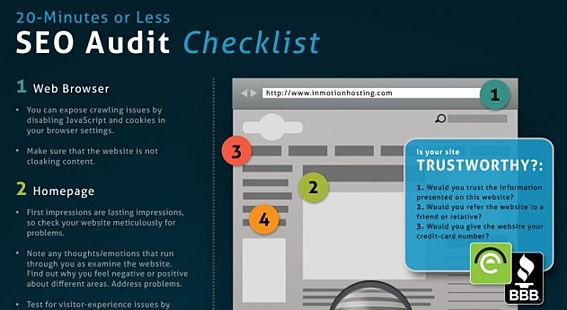 The 20-Minute (Or Less) SEO Audit w/ INFOGRAPHIC