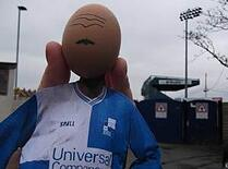 #MonkeyEggs - Famous Bristolians - Who is this egg?