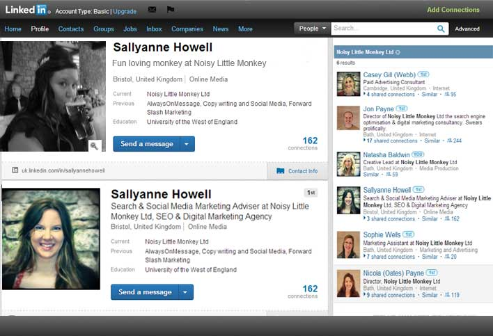 Examples of LinkedIn Profile Photos