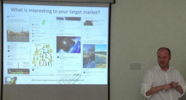 Jon Payne speaks about search engine optimisation