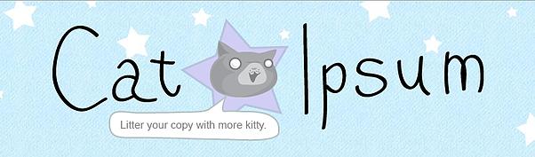 Cat Ipsum