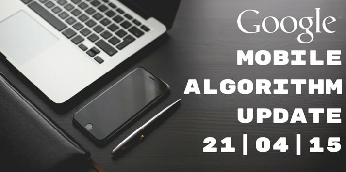 Google Mobile Algorithm Update