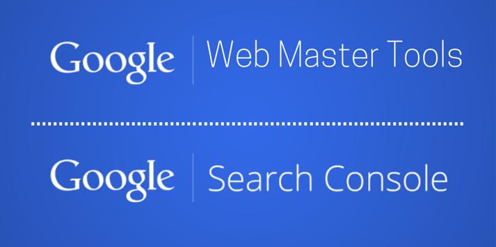 Web Master Tools vs. Search Console