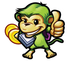 Training monkey