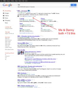 I have a secret. I see a lot of Danny Sullivan.