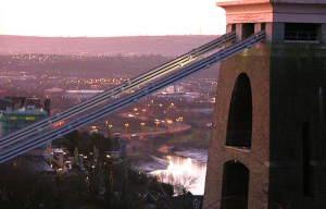 Obligatory shot of Clifton Suspension Bridge