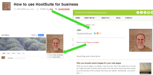 Link up Google+ Profile - 2