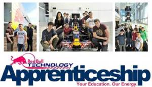 Red Bull Technology apprentices