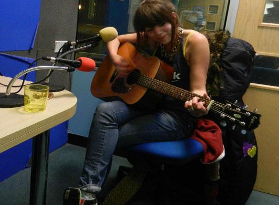 Live music in the studio