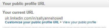 How to Customise your public profile URL on LinkedIn