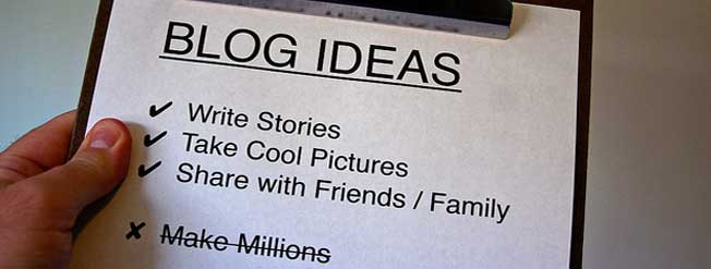 Good Blog Ideas