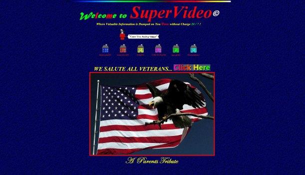 supervideo.com homepage