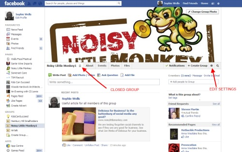 Example Facebook Group