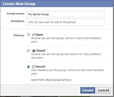 A secret group