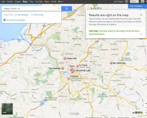 New Google Maps - First Look