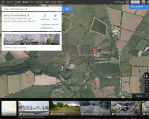 show info and reviews in Google Earth