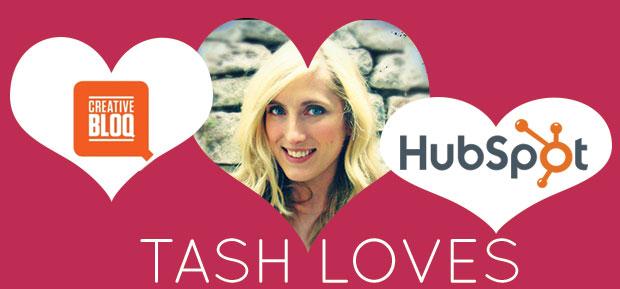 tash loves creative bloq and hupspot image