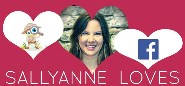 sallyanne loves social media examiner and facebook news feed