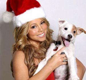 Mariah Carey at Christmas