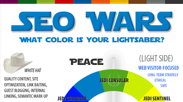 SEO Wars: Forget Black Hat, White Hat - What Color Is Your Lightsaber?