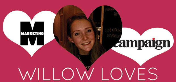 willow loves marketing and campaign live