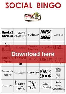 Social Bingo printable
