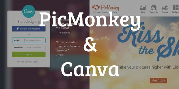 picmonkey and canva
