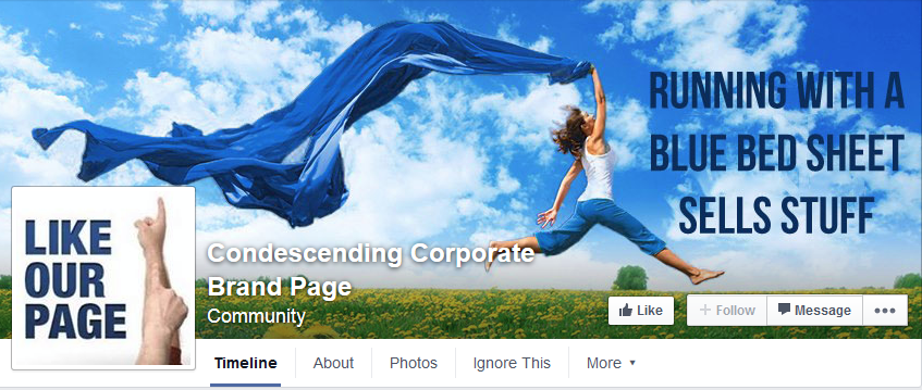 Corporate Bollocks Facebook Banner