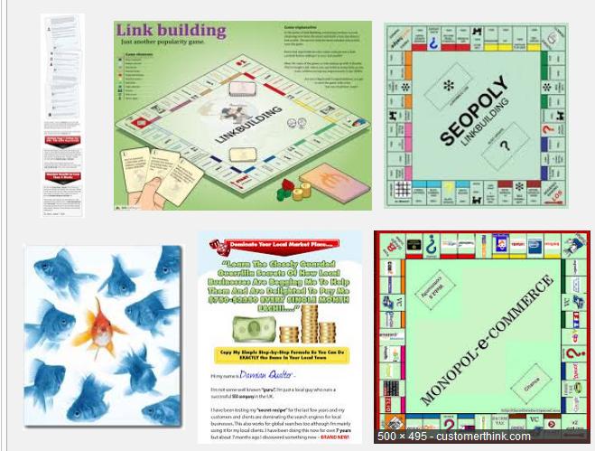SEO Monopoly SERP