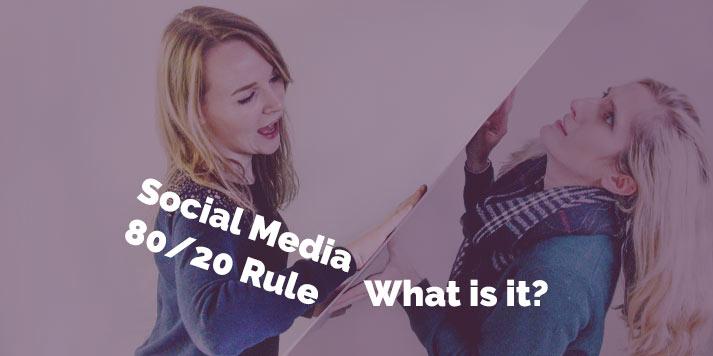 social media 80-20 rule blog