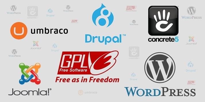 Open Source CMS Logos