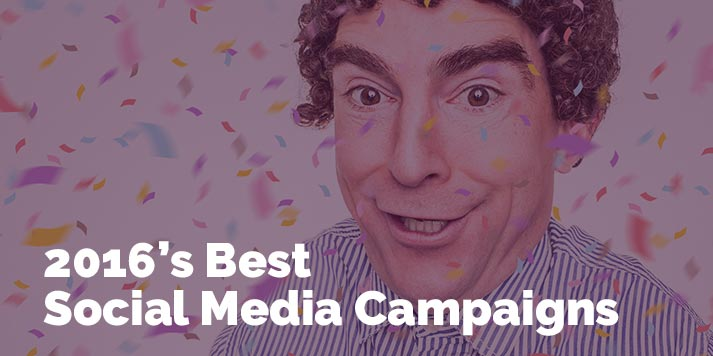 best social media campaigns of 2016