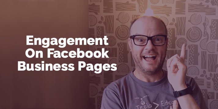 how to get engagement on facebook business pages