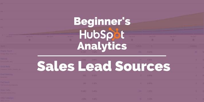 sales lead sources hubspot