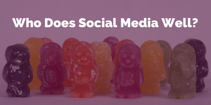 who does social media well?