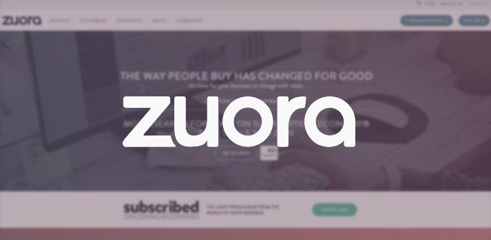 zuora website homepage