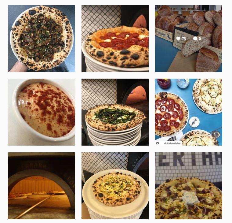 Berthas Pizza Instagram